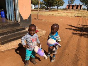 African Children p-pie